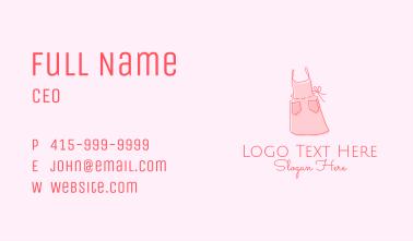 Dressmaker Apron  Business Card