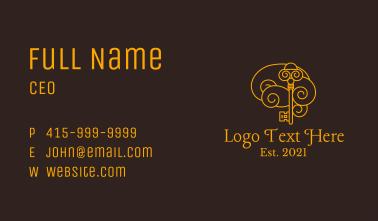Elegant Mind Key Business Card