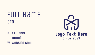 Online Shopping Store Business Card