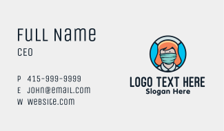 Medical Healthcare Service Business Card