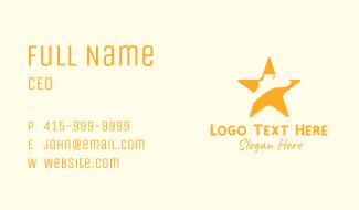 Star Dog Veterinary Business Card