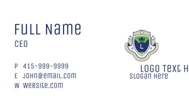 Royalty Emblem Badge Business Card