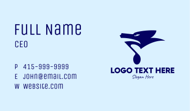 Wild Animal Sounds Business Card