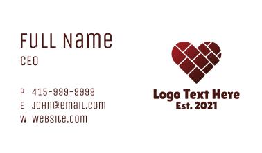 Heart Masonry Business Card