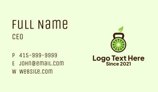 Kiwi Kettle Bell  Business Card