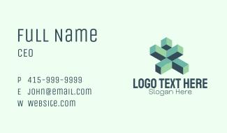 Technology Building Blocks Business Card
