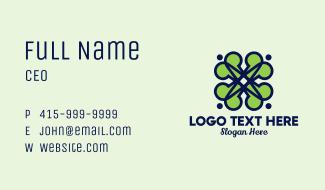 Lucky Clover Business  Business Card