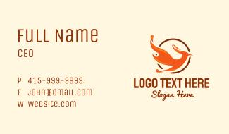 Flaming Phoenix Business Card