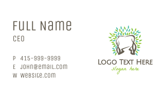 Tooth Vine Business Card
