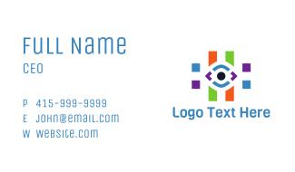 Eye Hashtag Business Card