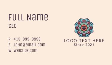 Mandala Tattoo Ornament  Business Card