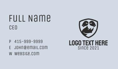 Rhino Boxing Emblem  Business Card