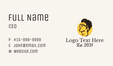 Cool Retro Shades Business Card