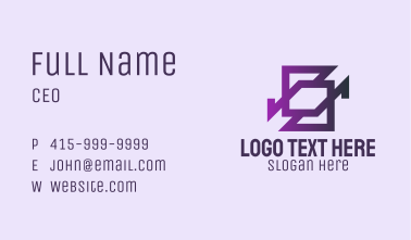 Geometric Multimedia  Business Card