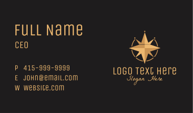 Crown Compass  Business Card