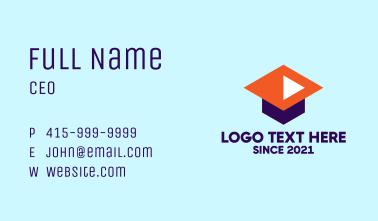 Online Webinar Masterclass  Business Card