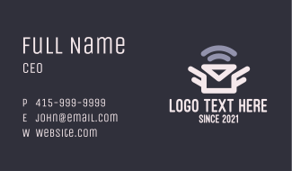 Envelope Mail Signal Business Card
