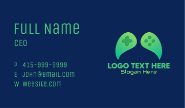 Green Leaf Gaming  Business Card