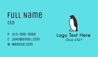 Cute Penguin  Business Card