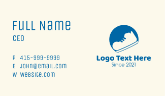 Footwear Store Business Card