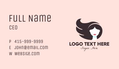 Beauty Hair Stylist Business Card