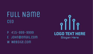 Circuit Technology Company Business Card
