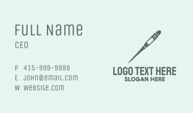 Digital Thermometer Business Card