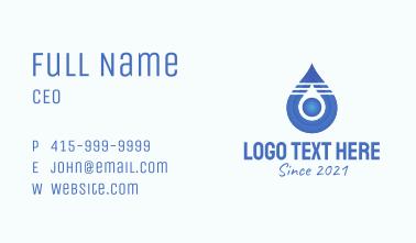 Blue Droplet Core  Business Card
