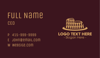 Wine Colosseum Business Card