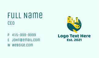 Coral Reef Fish Business Card