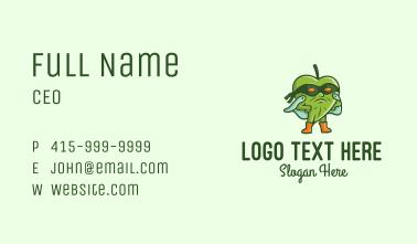 Herbal Superhero Business Card