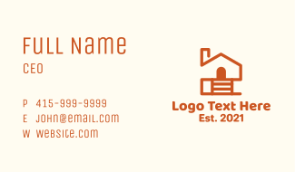 Real Estate House Business Card