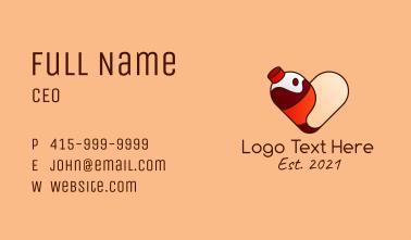 Cute Soda Love Business Card
