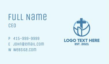 Holy Cross Emblem  Business Card