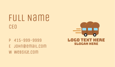Bread Express Delivery Business Card