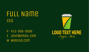 Herbal Tea Cup  Business Card