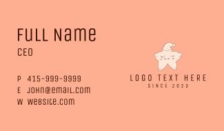 Bedtime Star Mascot  Business Card