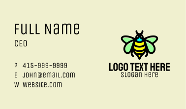 Bumblebee Wasp Insect  Business Card