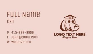 Heart Dog House Business Card