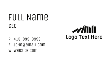 Domino City Business Card