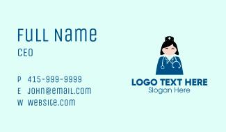 Professional Nurse Business Card