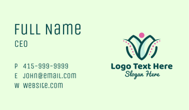 Medical Chiropractic Clinic Business Card