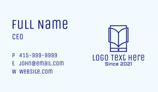 Digital Phone Book Business Card