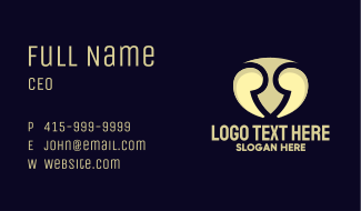 Quote Shield Business Card