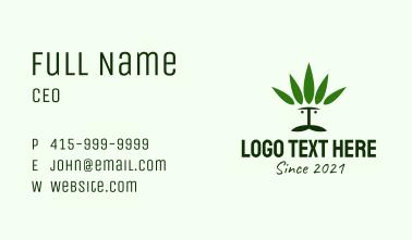 Cannabis Man Business Card