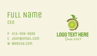 Kiwi Fruit Stand  Business Card