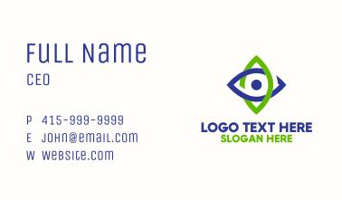 Eye Star Corporate Business Card