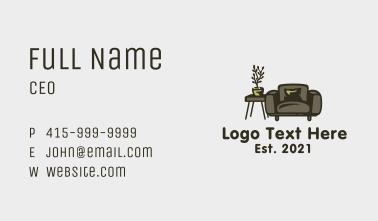 Living Room Furniture Business Card