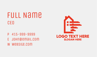 Moving House Business Card