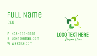 Organic Medical Cross  Business Card